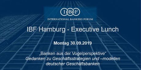 IBF Hamburg - Executive Lunch tickets