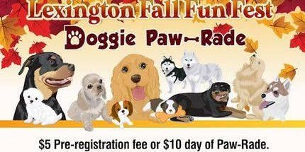 Doggie Paw-Rade