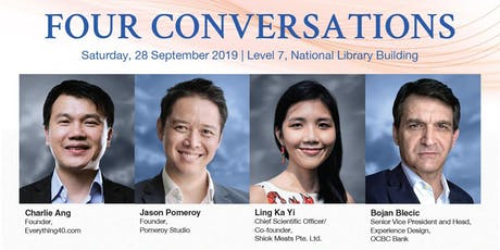 FOUR CONVERSATIONS: NEW THINKING FOR A NEW WORLD tickets