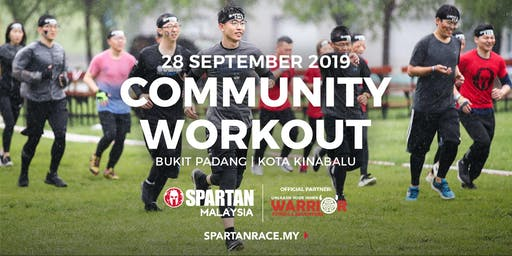 Free Spartan Mass Workout - KK @ Bukit Padang  28th Sept 2019