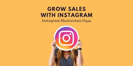 Instagram Masterclass with Socialopedia tickets