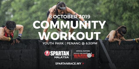 PG Free Spartan Community Workout - Youth Park 8th Oct 2019 tickets