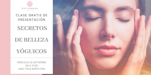 Clase GRATIS:  Secretos de Belleza Yóguicos