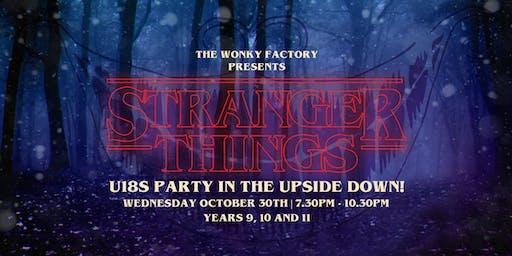 Wonky U18s Halloween - Stranger Things