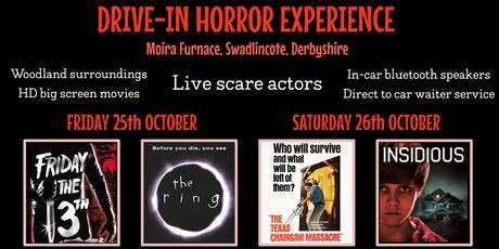 THE BIG SCREAM!! - Drive-in Horror Movie Experience @ Moira Furnace tickets