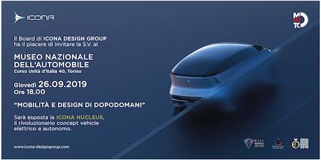Nucleus: concept vehicle by Icona Design al MAUTO biglietti