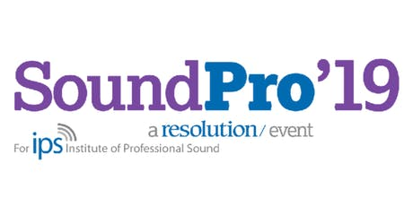 SoundPro'19 tickets