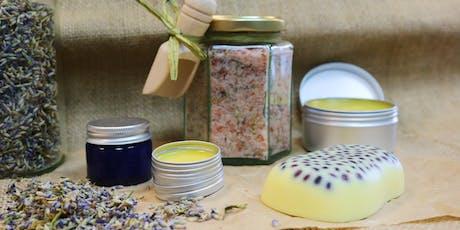 Gardeners' Cosmetics Course / Cwrs Cosmetigau'r Arddwyr tickets