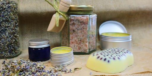 Gardeners' Cosmetics Course / Cwrs Cosmetigau'r Arddwyr