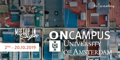 Meetup in Saigon - ONCampus University of Amsterdam
