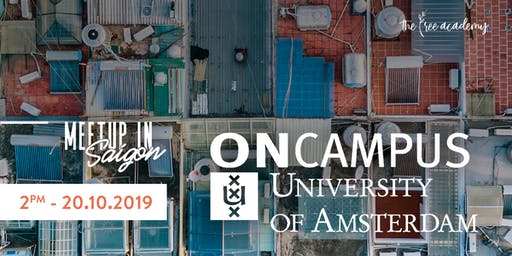 Meetup in Saigon - ONCampus University of Amsterdam