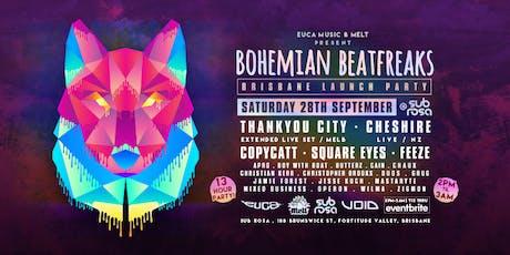 Bohemian Beatfreaks Brisbane Launch Party tickets