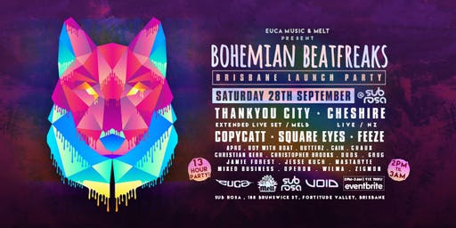 Bohemian Beatfreaks Brisbane Launch Party