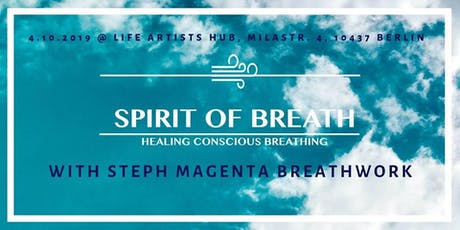 Spirit of Breath - Healing Conscious Breathing  Tickets