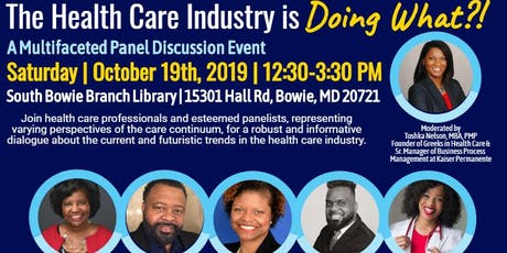 """""""The Health Care Industry is Doing What?!"""" tickets"""