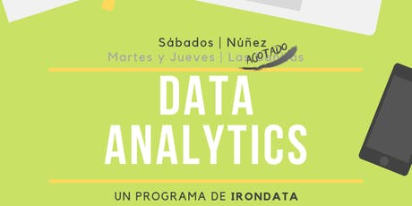 Data Analytics Blend entradas