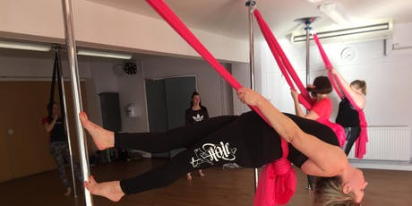 Intro to PoleSilks October 2019 Mixed/Co-Ed tickets