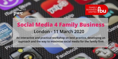 Social Media For Family Businesses  tickets