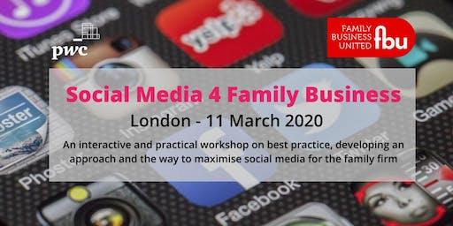 Social Media For Family Businesses