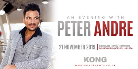 An Evening with Peter Andre tickets