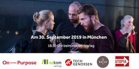 Purpose Night München - Dein Weg zu einer Karriere mit (mehr) Sinn! tickets
