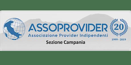Assoprovider - Incontro Reg. Campania - Consuntivo 2019  e progetto LoraWan biglietti
