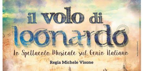 IL VOLO DI LEONARDO musical sul Genio Italiano di Michele Visone biglietti