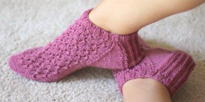 Knit your own slipper socks