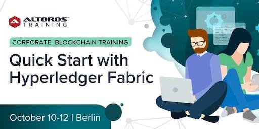 Corporate Blockchain Training: Quick start with Hyperledger Fabric [Berlin]