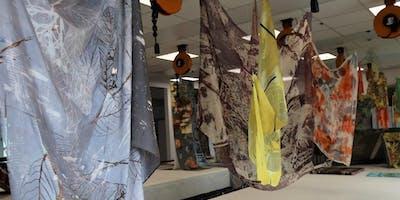 Textiles portfolio development programme - for teachers [screen printing and cyanotype]