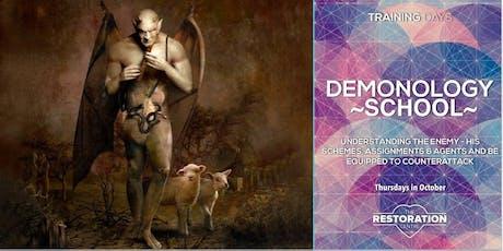 Demonology School Training Nights tickets