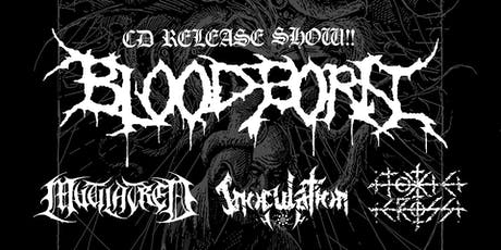 Bloodborn (album release), Mutilatred, Inoculation & Toxic Cross tickets