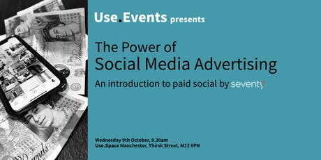 The Power of Social Media Advertising tickets