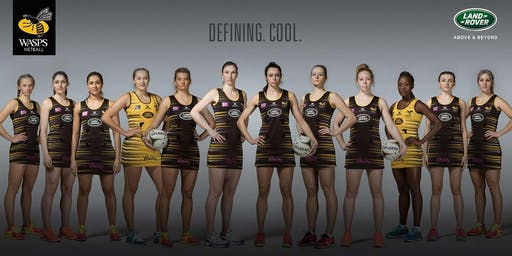 Wasps Netball Training Day