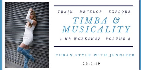 Timba Musicality Workshop with Jennifer White - Volume 2. tickets