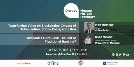 Disrupt Meetup | Impact of Blockchain on Payment Services Tickets
