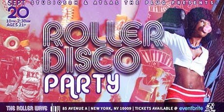 The Roller Wave: Roller Disco tickets