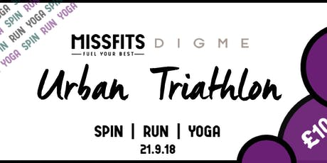 MISSFITS URBAN TRIATHLON tickets