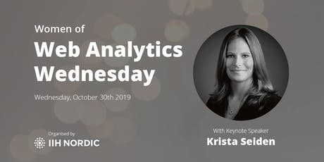 Web Analytics Wednesday - Copenhagen 2019 #2 tickets