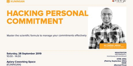 Hacking Personal Commitment tickets