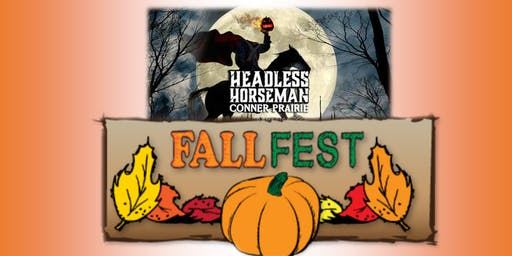 Grades 9-12: INCA Fall Fest at Conner Prairie