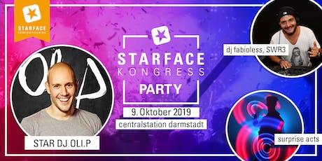 STARFACE Kongress Party 2019 tickets