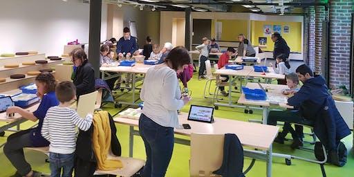 EuraTech'Kids - Atelier robotique avec les LEGO Wedo