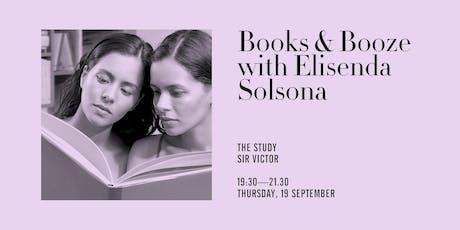 Books & Booze con Elisenda Solsona entradas
