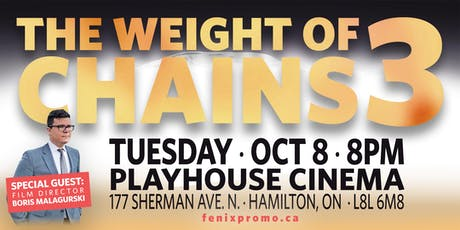 The WEIGHT OF CHAINS 3 tickets