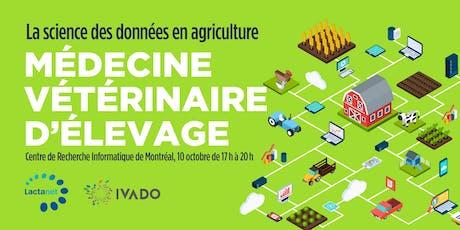 La science des données en agriculture: Médecine Vétérinaire d'Élevage billets