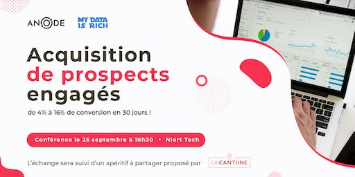 Acquisition de prospects engagés : De 4% à 16% de conversion en 30 jours.