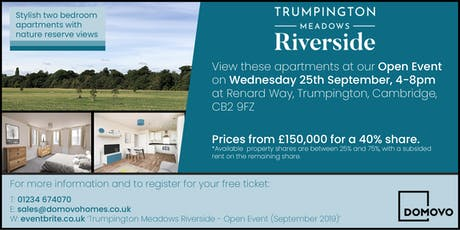 Trumpington Meadows Riverside - Open Event (September 2019) tickets