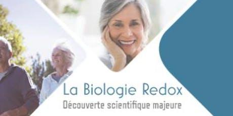 Conférences Vitalité Bien-être : La biologie REDOX tickets