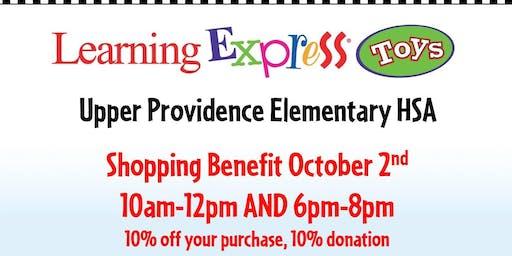 Upper Providence Elementary HSA Shopping Benefit